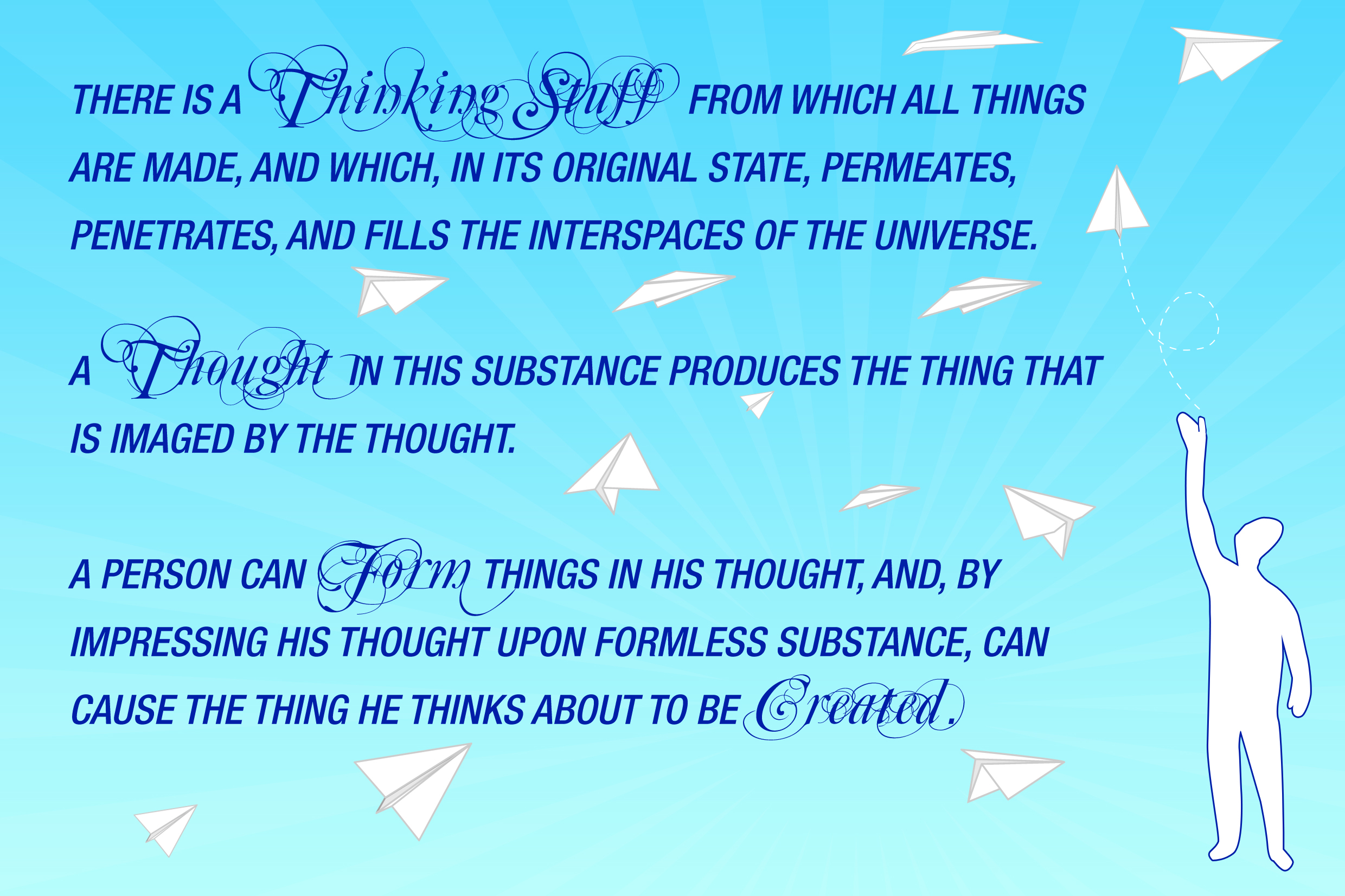Impress your thoughts