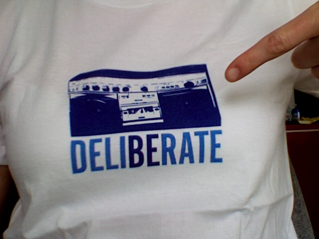 New Deliberate Tee Shirts Available